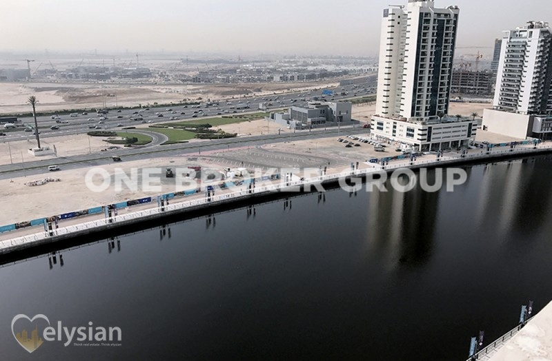 Spacious & New 2BR | Canal View| Majestic