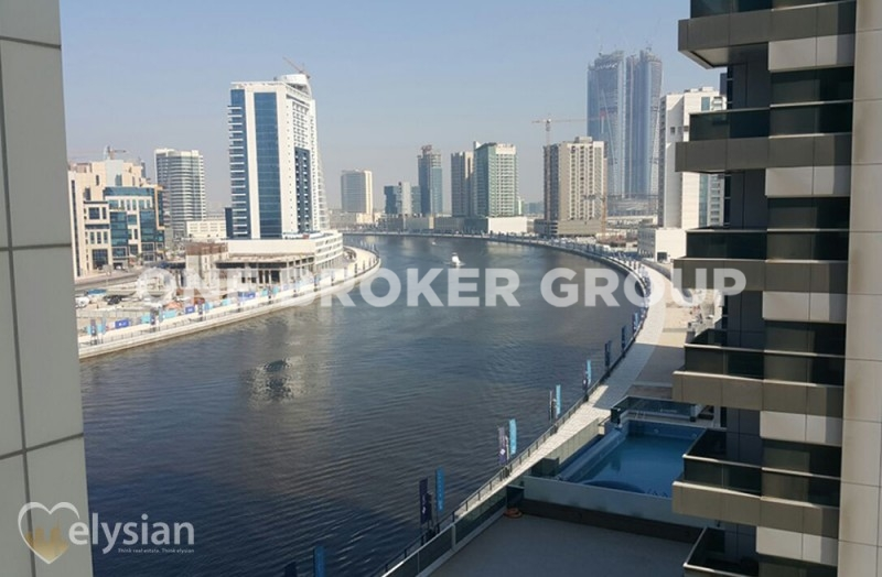 Full Canal View | 1BR |Superb Investment