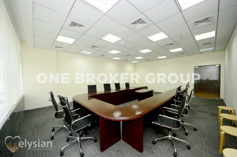 Fitted Office l Tameem House l For Rent