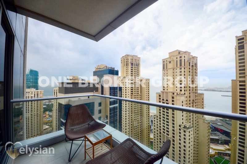 High floor 1BR - Atlantis and sea view!