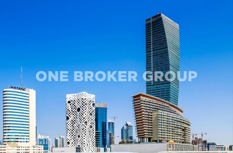Bright 1BR | Ubora Tower | w/Meydan View