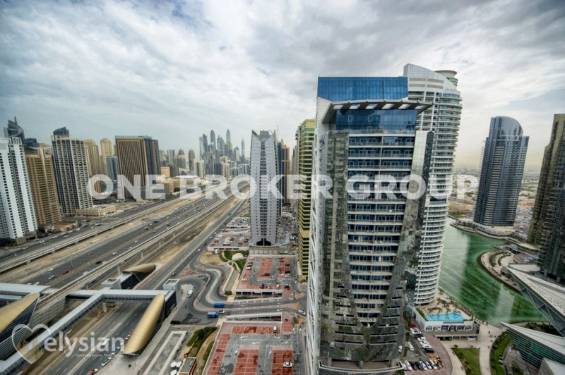 3 bed with great views on high floor!