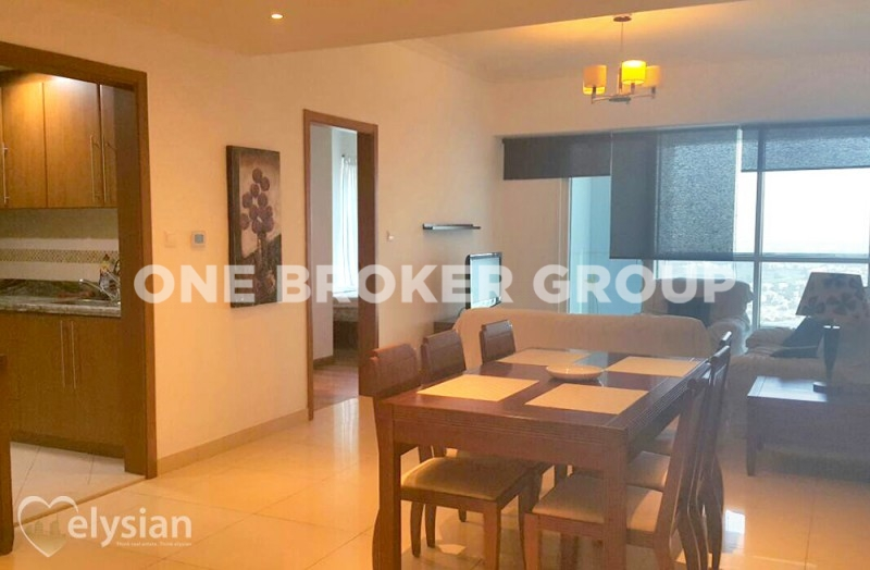 Great 1BR in Saba 2 |Park view | VACANT