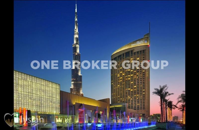 Furnished Studio  The Address Dubai Mall