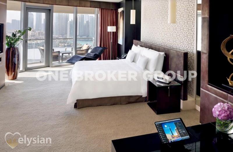 Furnished 1BR | The Address Dubai Mall