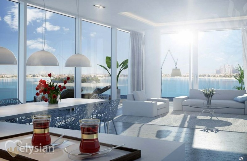 New 1BR, Beach Front Terrace, The Palm