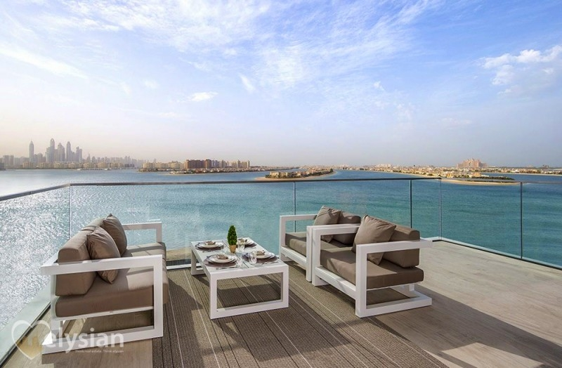 New 2BR | with Modern Terrace | The Palm