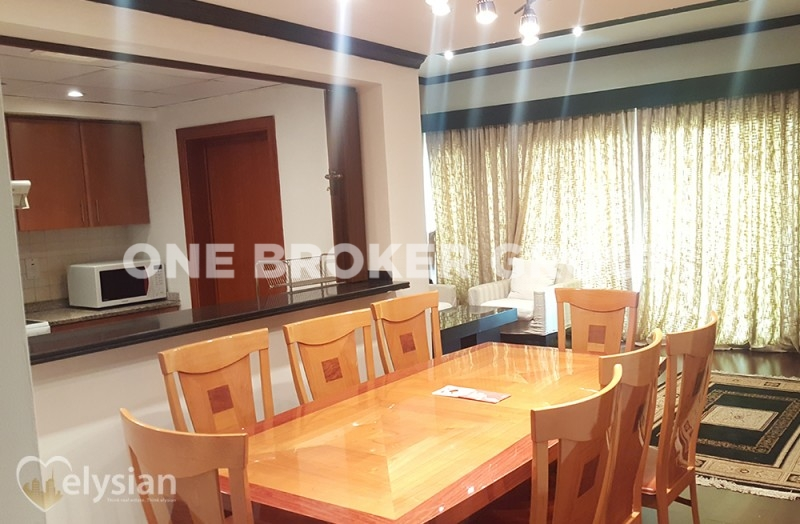Furnished 2BR+S | Fully Upgraded | Greens