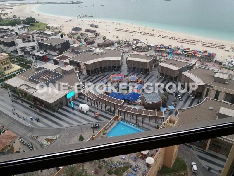 Full Open Sea View/3Br+M/in Rimal 6