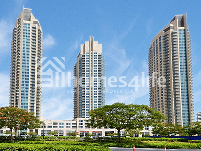 Well Maintained 1 BR | Burj Views Podium