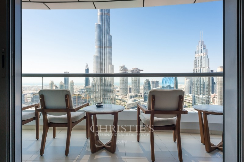 Fully Furnished 2BR|Burj and Fountain view