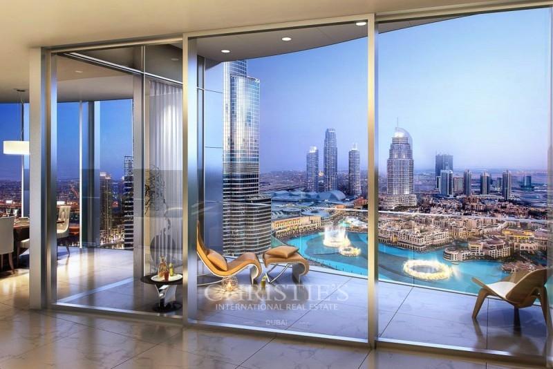 Post-Handover Payment Plan|Luxury|Burj - Fountain