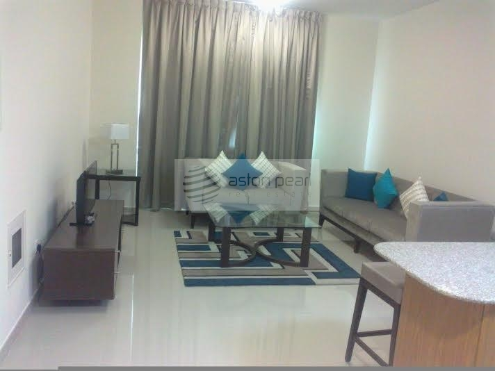 Fully Furnished 1 Bed with Very Nice Layout
