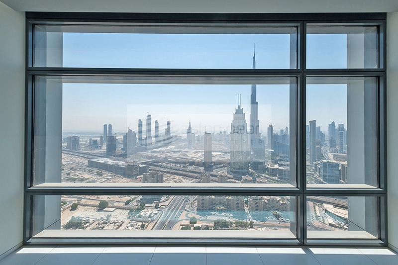 Burj KhalifaView from BR and Living Room