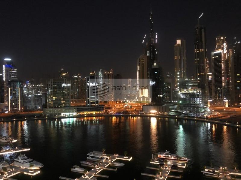 1 BR, Large Balcony, Lake and Burj Views