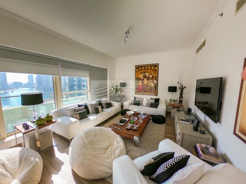 Fully Upgraded 3B Penthouse | Marina View