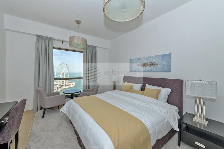 Shams 1-JBR, 2BR with Beach, Skyline and Sea Views
