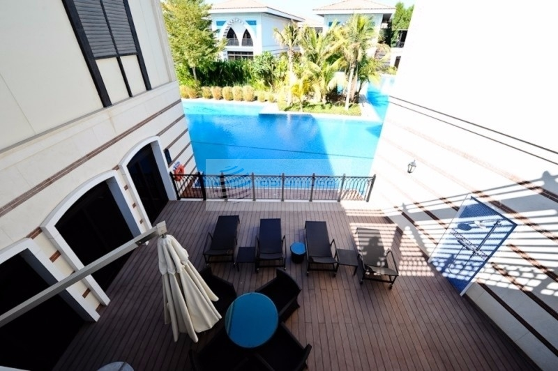 Luxury Furnished 4 BR, Private Beach, Royal Villa