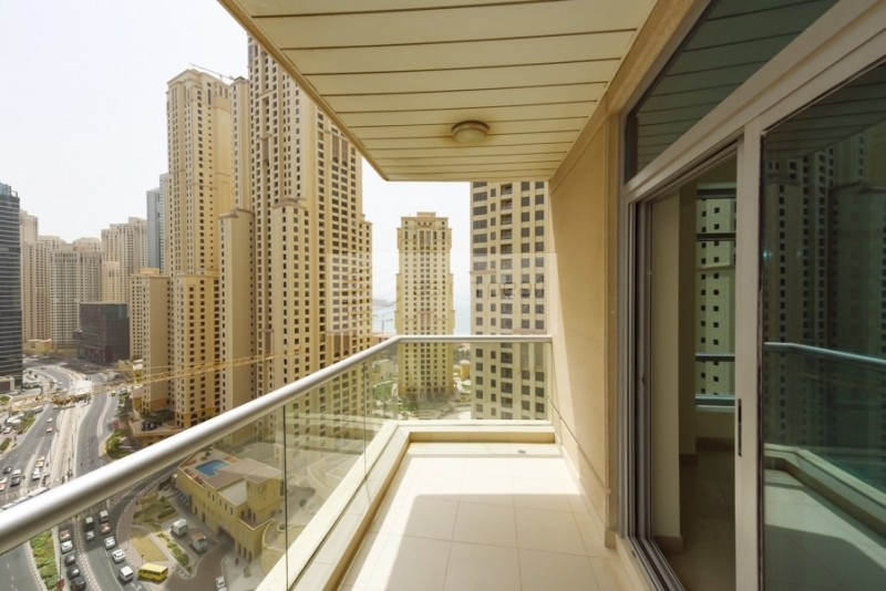 High Floor One BR | Marina View | Rented Unit