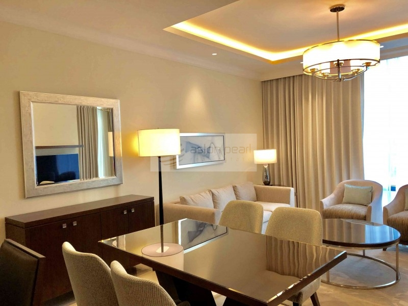 Spacious One Bedroom with Burj Kalifa View