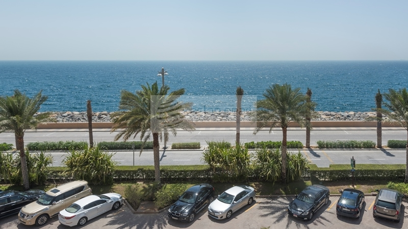 One of a Kind | Furnished 4BR+Maid | Sea View