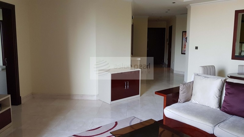 Vacant Apartment, Fully Furnished 1BR, Garden View