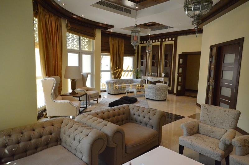 Fully Furnished 5 Bedrooms Villa,Emirates Hills for sale