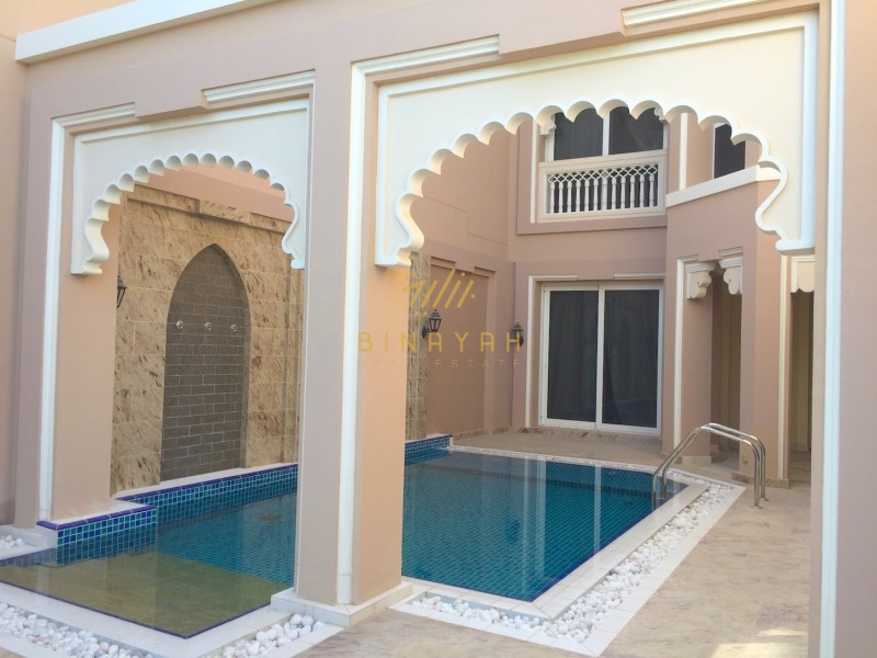Luxury 4 Bedroom with Maid's Room Terrace Villa in Taj Residence  Palm Jumeirah