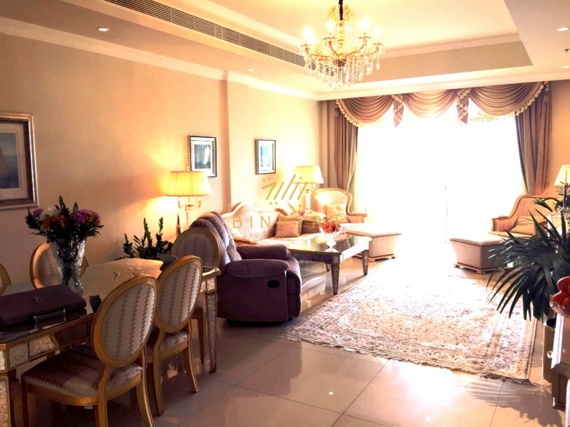 Luxury 2 Bed Gold Apartment in Kempinski Palm