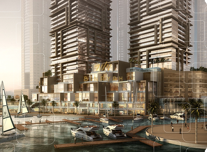 Marina View 1 Bedroom Apartment for Sale at Marina Gate 2 Dubai Marina