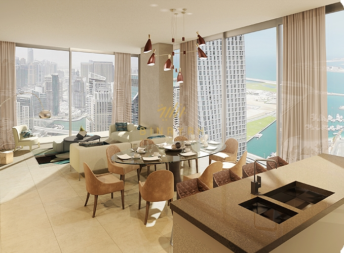 Marina Gate Apartments for Sale - 3 Bedroom with Maid Room in Dubai Marina