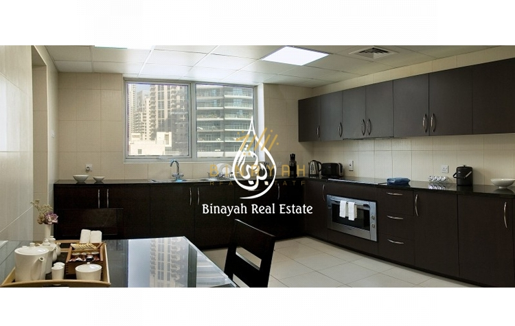 Hotel Apartment in Dubai Marina 3 Bedroom Deluxe