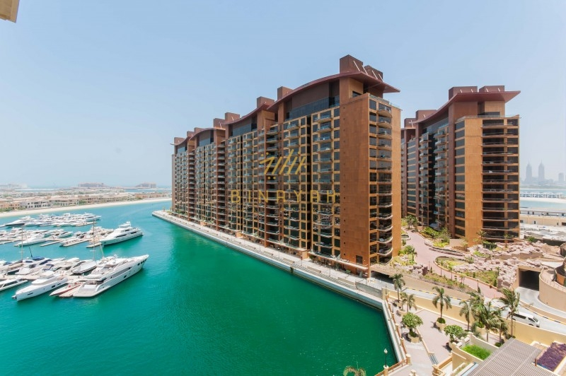 2 Bedroom with Maid,Tiara and marina view,Palm Jumeirah