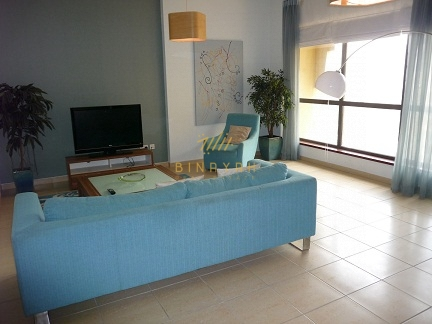 Furnished 3 Bedroom with Maid for Sale at Shams 1 JBR