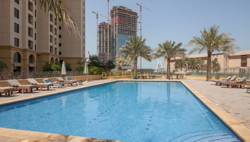 Fully Upgraded 2 Bedroom Apartment Available for Sale at Sadaf 6 with Full Sea view