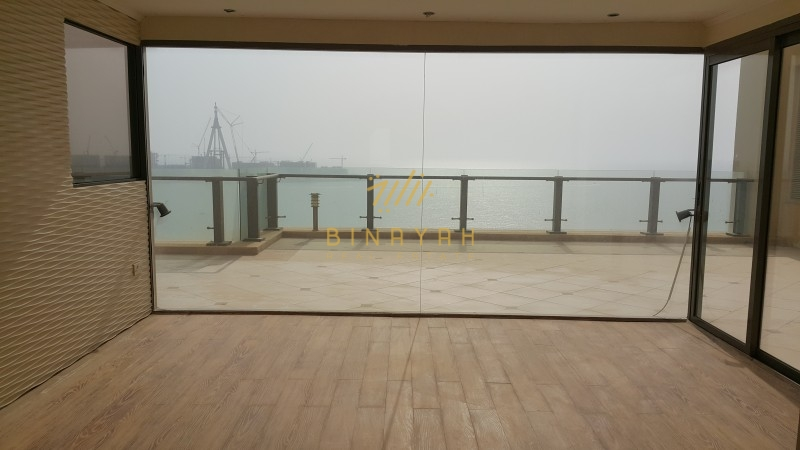 Full Sea Dubai-Eye View|Vacant 4BR+M Penthouse|Murjan JBR