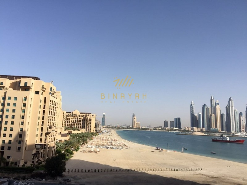 Chepast Flat for Rent in Palm Jumeirah  3 Bedroom in Ocaeana