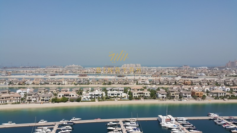 Palm Jumeirah Apartment for Rent - Furnished 3 Bedroom in Marina Residence