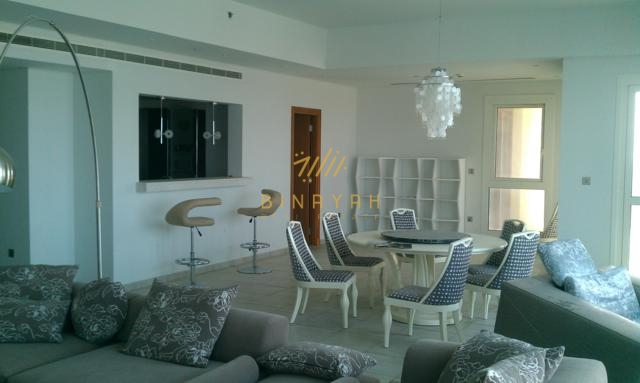 Palm Jumeirah Apartment for Rent -  3 Bedroom in Marina Residence