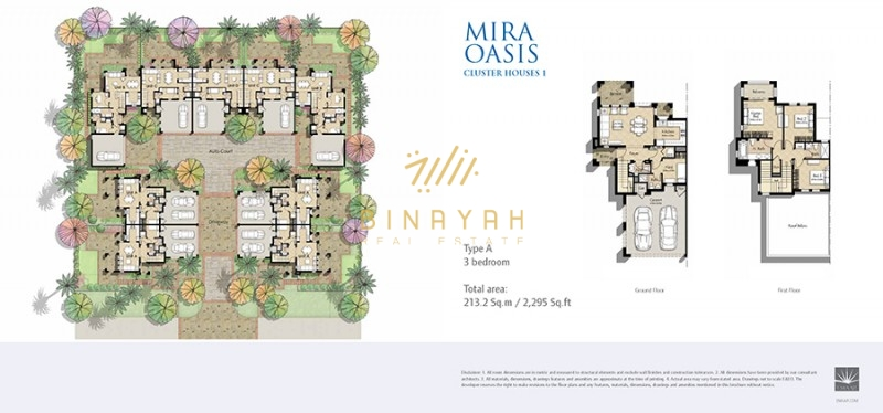 4 Bedroom Villa for Sale in Reem at Mira Oasis