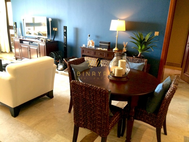 Full sea view 2 bedroom in Fairmont Palm