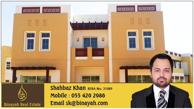 5 Bedroom with Maid Independent Villa Type B for Rent Mudon Dubailand