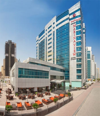Marina View Hotel Apartments Studio for Rent at Dubai Marina