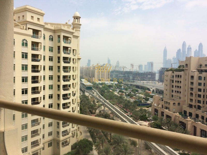 2 Bedroom with Maid,High Floor,Garden view,Palm Jumeirah