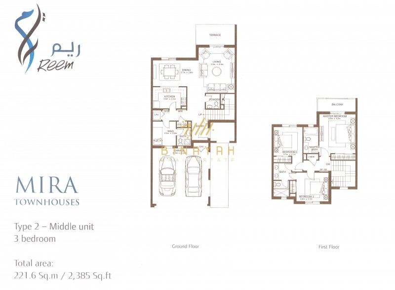 Townhouse in Mira for Sale | 3 Bedroom Type 2M