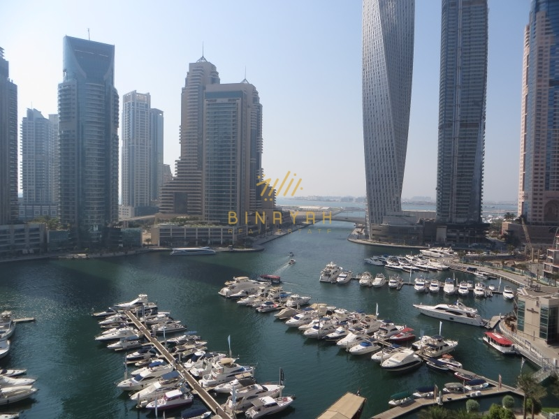 3 Bedroom with Full Marina View at Al Anbar Dubai Marina
