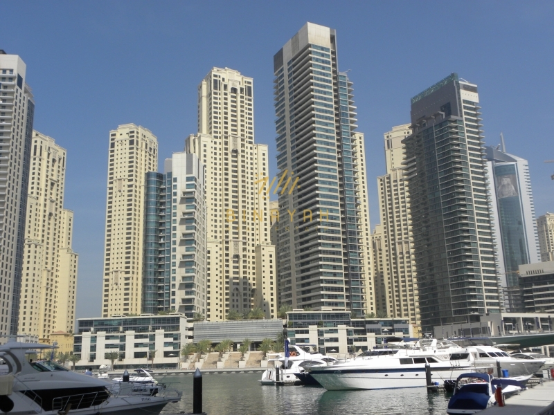 1BR |Furnished |Vacant |Full Marina View