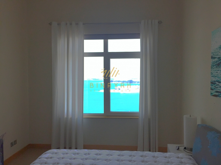 Sea facing furnished 1 bedroom apartment