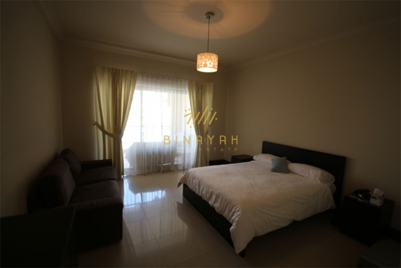 Fully furnished 2 bedroom with maids room