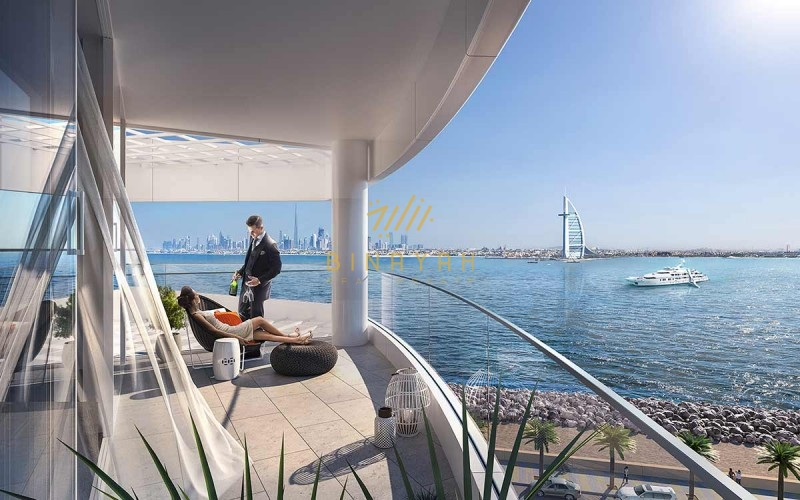 Seafront 1 Bed on Payment Plan at MINA Palm